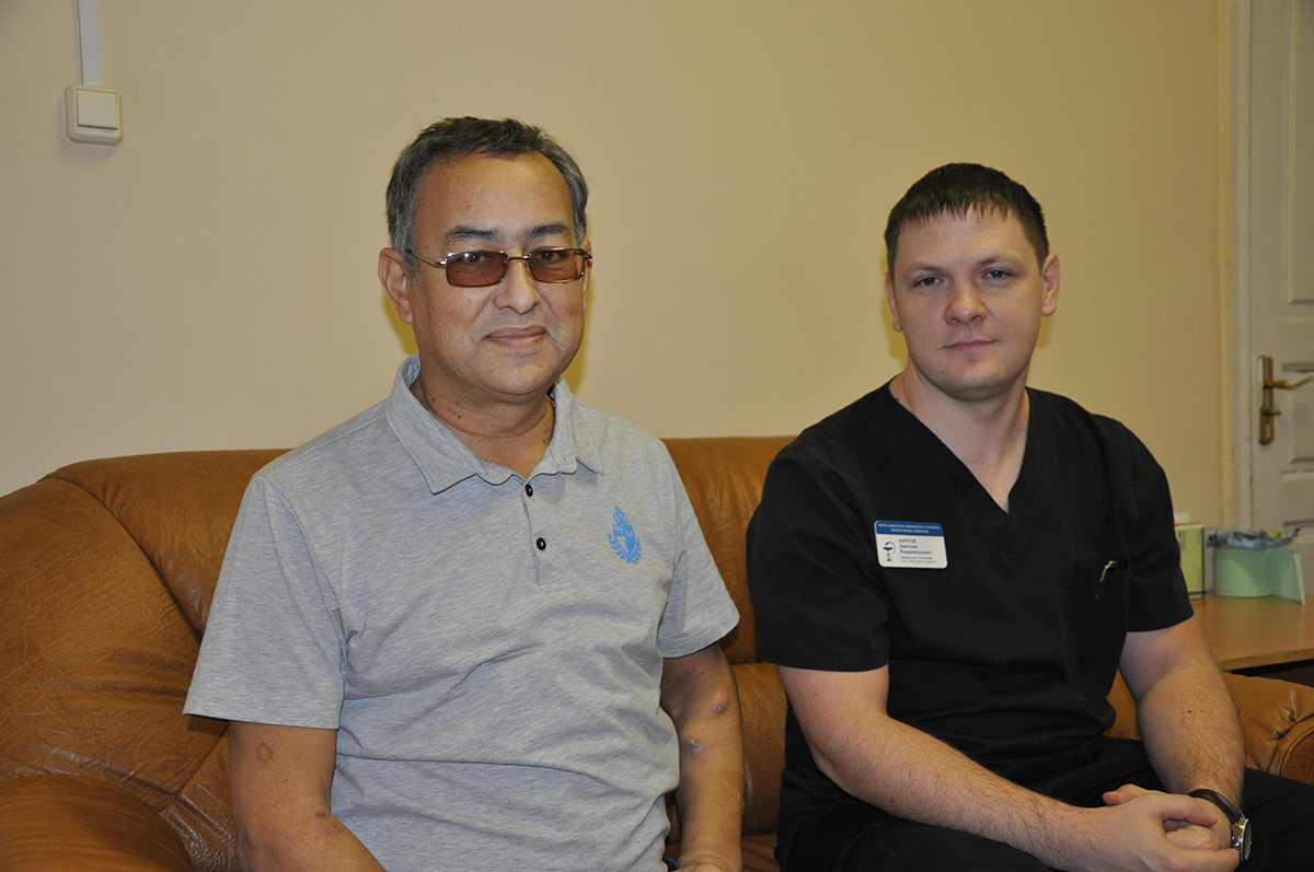 В ОКБ спасли пациента с гигантским поликистозом почек